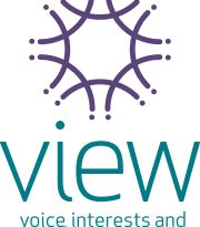 Image is of VIEW club logo.