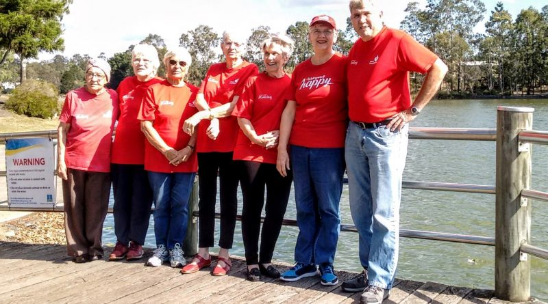 Walking group starts back up this month