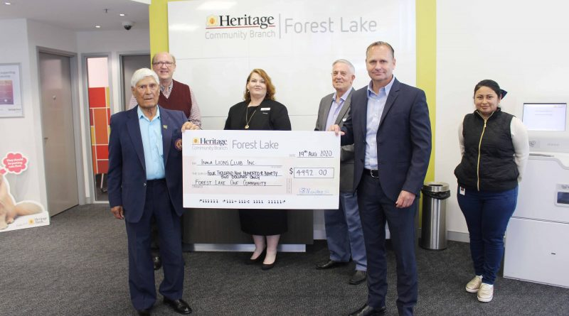 School backpack giveaway supports local students, thanks to Heritage Forest Lake and Inala Lions Club