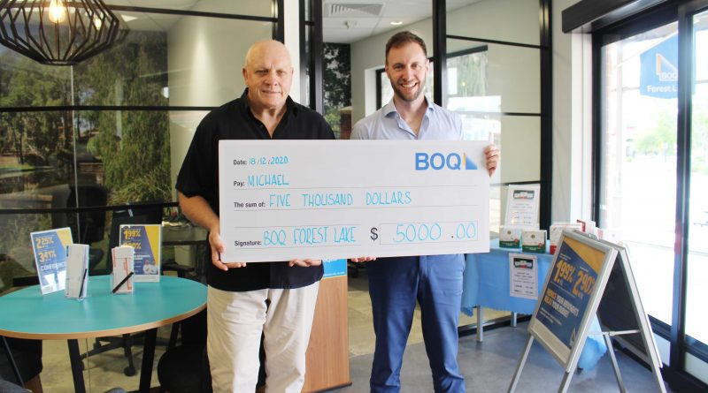 Another lucky winner at BOQ Forest Lake